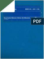 BMW E28 518 520i Werkstatthandbuch