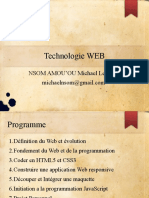 Cours 2 Technologie Web