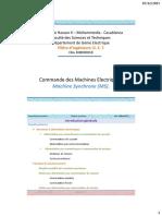 5- Commande de La Machine Synchrone