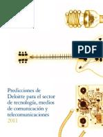 Predicciones de Deloitte para el sector de tecnología, medios de comunicación y telecomunicaciones 2011 FULL