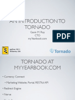 An Introduction to Tornado