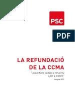 La proposta del PSC per refundar la CCMA