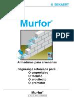 Biu_Murfor - Armaduras Para Alvenarias