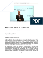 Sacred Power of Innovation by David Arthur Walters