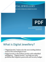 digital jewellery ppt