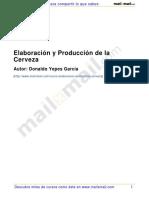 Elaboracion y produccion de la cerveza