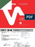 Catalogo Pecas Xlx250