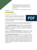 LA BIOTECNOLOGIA EN LA FABRICACION DE FARMACOS
