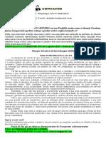 PORTFÓLIO 2º E 3º SEMESTRE CST Em Logística 2021 - Rede de Mini Mercados Luza S.A