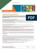 Évaluation des risques professionnels