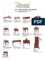 Formal Occasional tear sheets