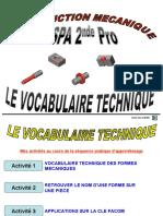 vocabulaire technique SPA3