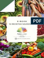 e-book - Receitas Saudáveis - Rhaissa de Landa