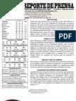 Reporte 7 Guaros - Panteras