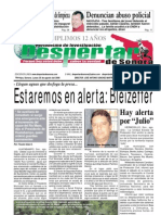 Edición 25 de Agosto del 2008