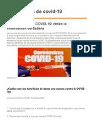 Vacunas de Covid-19.