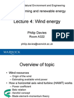 Wind Energy lecture
