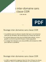 2.1 08-02 Routage inter-domaine sans classe CIDR