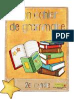 cahier de grammaire 2e cycle