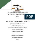 Análisis Sobre El Estudio Del Derecho Comparado, En República Dominicana