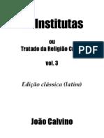 As Institutas V.3