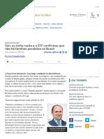 ConJur - STF confirma que não há famílias paralelas no Brasil