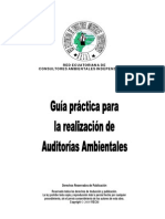 Guia para realizar Auditorias Ambientales