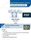 Aligning Sales Performance Levers - Mike Kunkle 08-2011