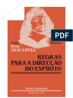 René Descartes - Regras Para a Direção do Espírito