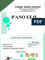 8° ano EF II  SD  26-03 ATUAL