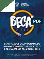 Resultados Becas Irapuato 2021 bachillerato