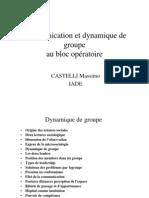 Communication Et Dynamique de Groupe