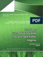 Texto Politicas Educativas y Educación para Pueblos Indigenas
