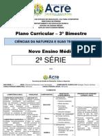 Plano de Curso - CNT - 2ª Série - 3º BIM