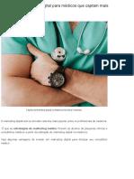 3 Acoes de Marketing Digital Para Medicos Que Captam Mais Pacientes