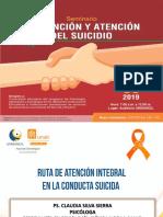 RUTA DE ATENCIÓN INTEGRAL A LA CONDUCTA SUICIDA