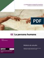 Unidad 2_La Persona Humana_Ant-Teo-2017