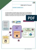 ODK ACF-E System steps NO INTERNET