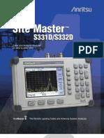 Anritsu Site Master S331D_S332D
