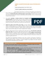 MSTK 10c - Preparing Quantitative and Qualitative Data for Entry _ Analysis