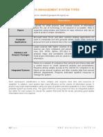 MSTK 10b - Data Management System Types