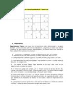 ACTIVIDAD FILOSOFICA GRP 2