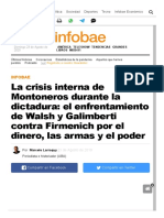 La crisis interna de Montoneros durante la dictadura_ el enfrentamiento de Walsh y Galimberti contra Firmenich por el dinero, las armas y el poder - Infobae