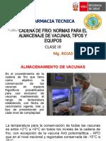 Farmacia Tecnica Cadena de Frio III