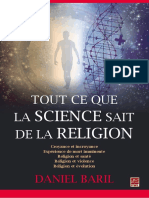 Tout Ce Que La Science Sait de La Religion by Daniel Baril z Lib.org