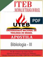 03 - Bibliologia - III