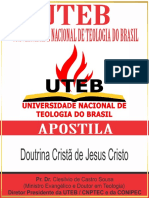 07 - Doutrina Cristã de Jesus Cristo