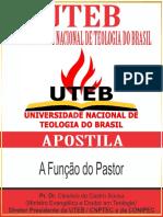 16 - A Função Do Pastor