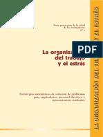 Organizacion Del Trabajo y Estres