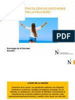 PSIFE SESIÓN 10 - Variables psicologicas de la felicidad